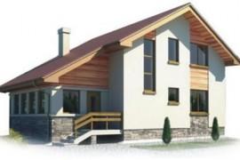 Проект каркасного дома КД-24.163