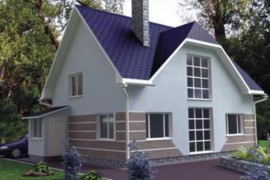 Проект каркасного дома КД-17.140