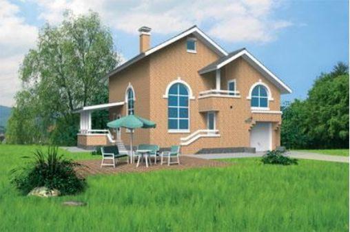 Проект каркасного дома КД-18.142