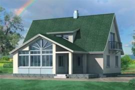 Проект каркасного дома КД-20.150