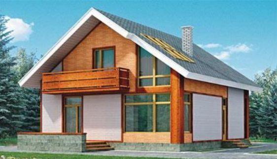Проект каркасного дома КД-21.153