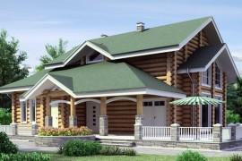 Проект деревянного дома 11-16