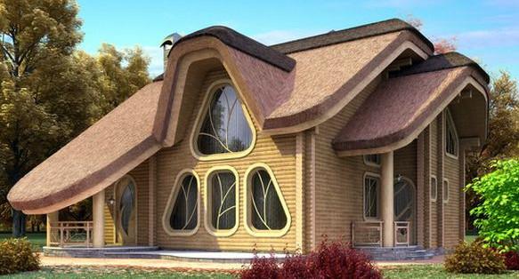 Проект деревянного дома 11-18