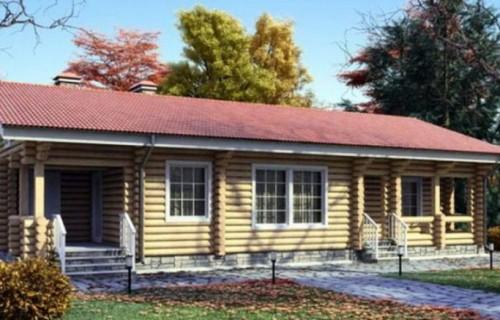 Проект деревянного дома 11-19