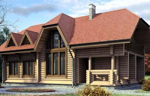 Проект деревянного дома 11-20