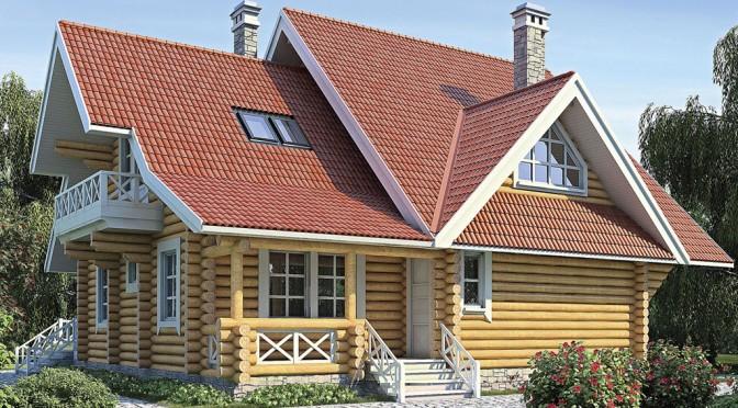 Проект деревянного дома 11-41