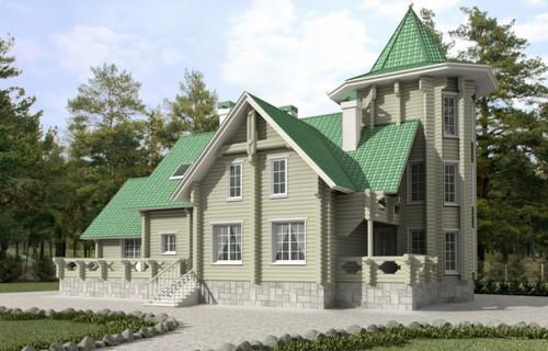 Проект деревянного дома 11-42