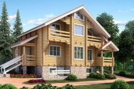 Проект деревянного дома 11-48