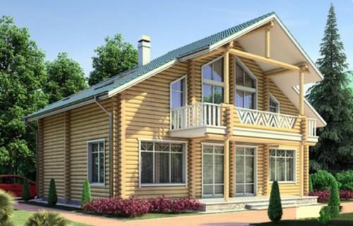 Проект деревянного дома 11-52