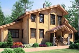 Проект деревянного дома 11-55