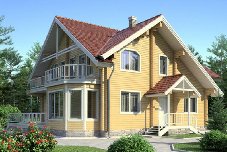 Проект деревянного дома 11-57