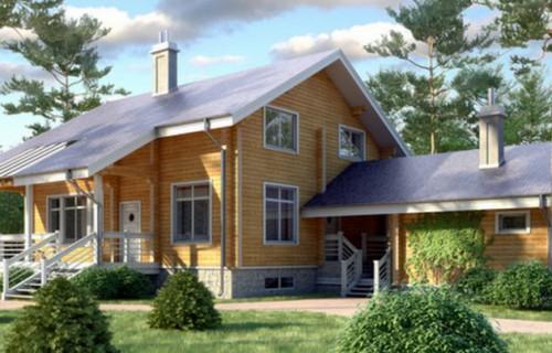 Проект деревянного дома 11-59