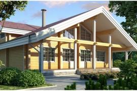 Проект деревянного дома 11-64