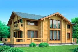 Проект деревянного дома 11-67