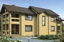 Проект деревянного дома 12-09