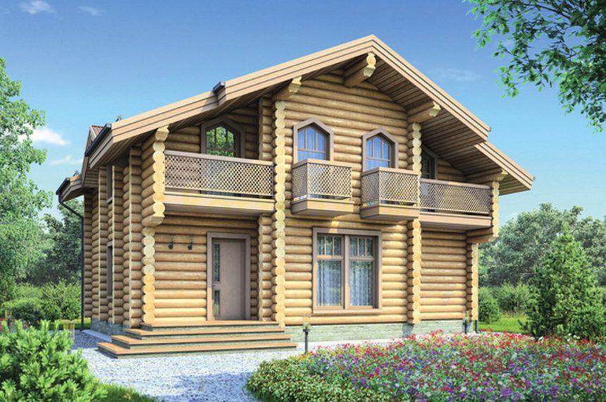 Проект деревянного дома 12-31