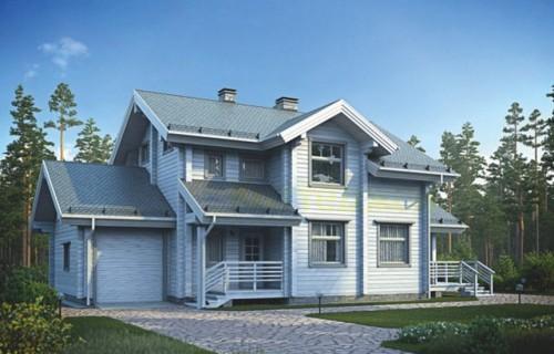 Проект деревянного дома 12-42