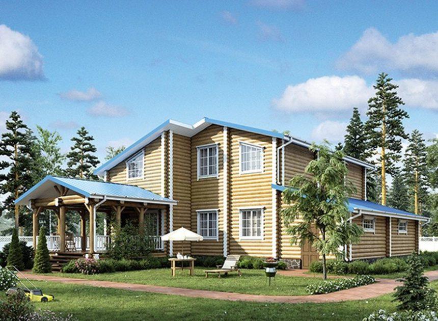 Проект деревянного дома 12-52