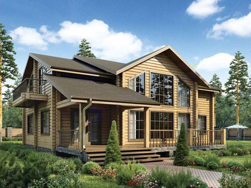 Проект деревянного дома 12-53